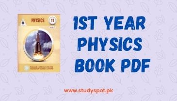1st year physics book pdf download