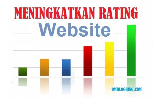 Cara Cepat Meningkatkan Rating Website