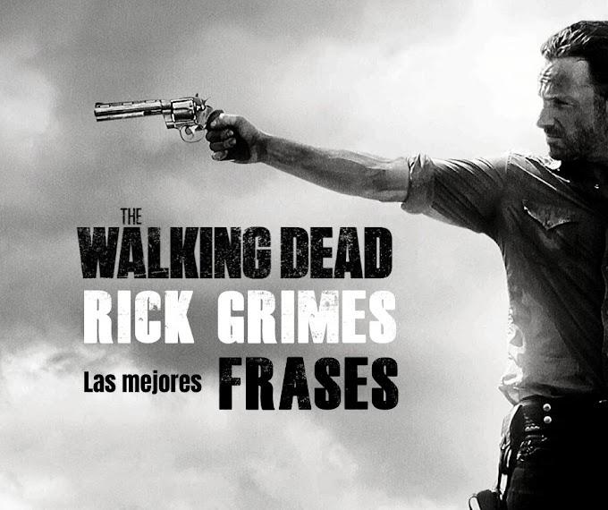 Las mejores Frases de Rick Grimes en Walking Dead