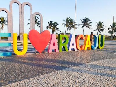 Cartão postal de Aracaju - Arcos da Orla