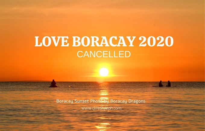 LOVE BORACAY 2020 IS CANCELLED DUE TO COVID 19
