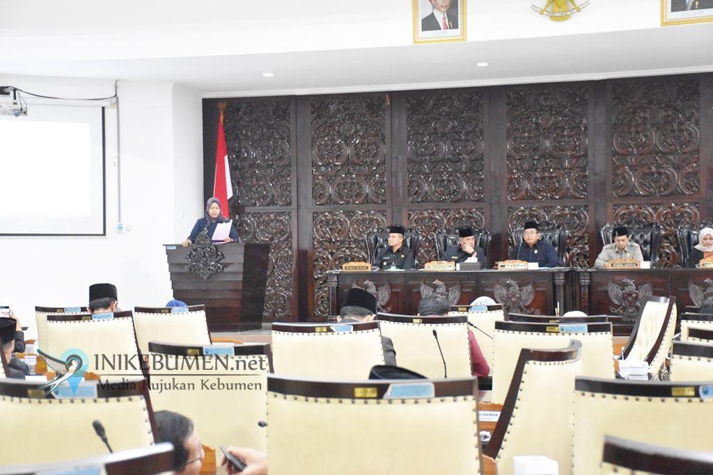 Semua Fraksi di DPRD Kebumen Setujui Perubahan APBD 2019