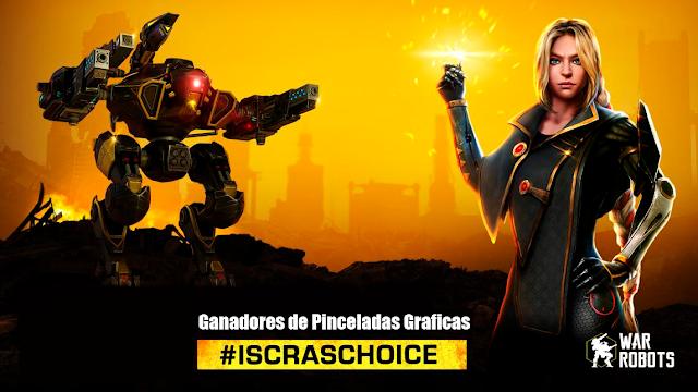 Ganadores/Winners #IskrasChoice Pinceladas Graficas