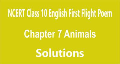 Chapter 7 Animals