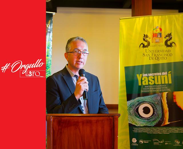 El libro Los Secretos del Yasuní, ganador del premio Enrique Garcés