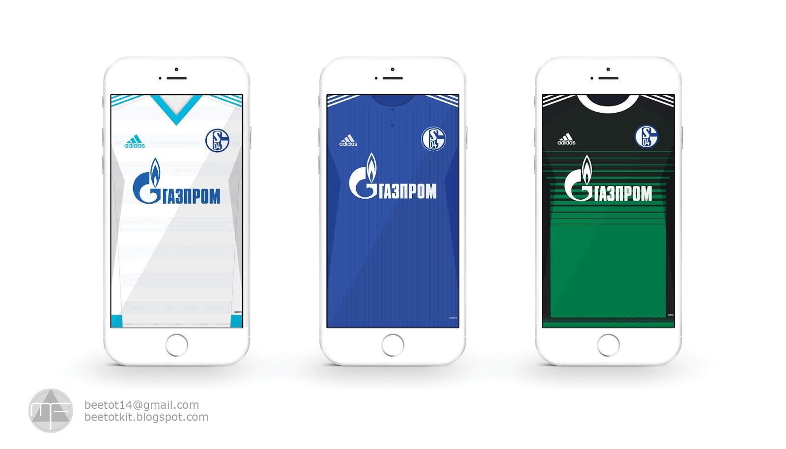 Beetot Kit: Schalke 04 Kit 15/16 Iphone 6 Wallpaper