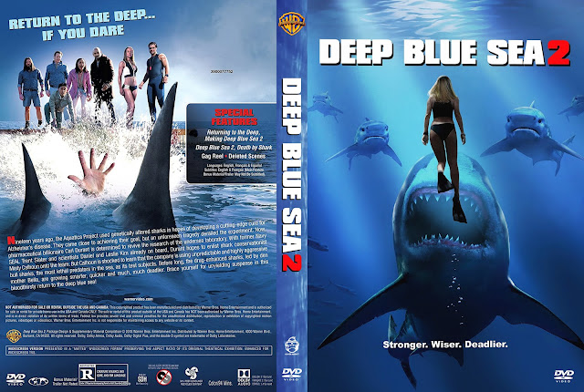 Deep Blue Sea 2 DVD Cover