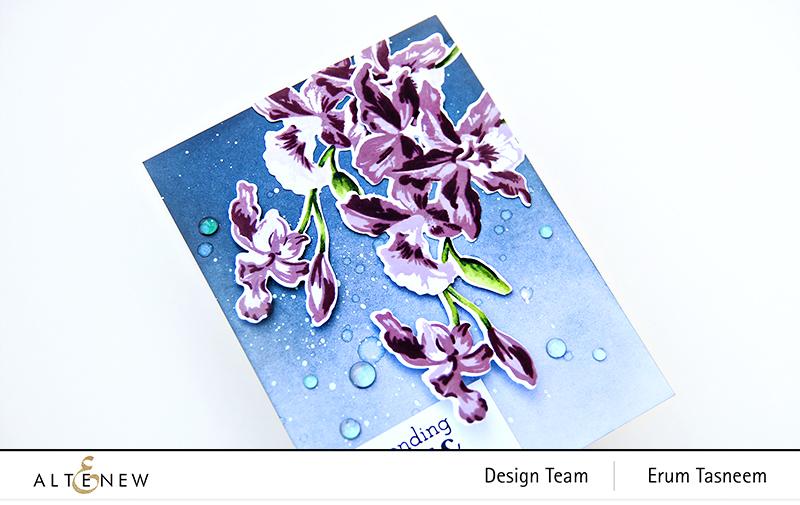 Altenew Build A Flower: Cattleya | Erum Tasneem | @pr0digy0