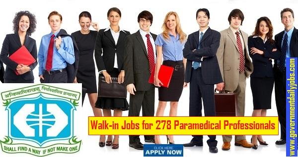 IKDRC Recruitment 2020 Staff Nurse & Other 278 Vacancies