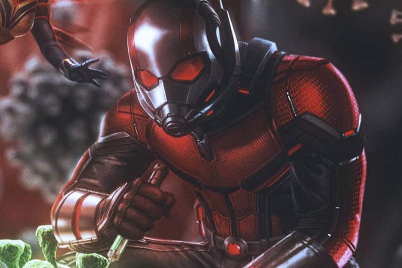 Ant-Man and the Wasp vs Coronavirus : 新型コロナ VS アントマン & ワスプ ! !、パンデミック終息を目指して戦う医療従事者のみなさんを励ます気持ちを込めて、マーベル最小チームがウイルスとの直接対決に乗り出したミクロのバトルを描いたファン・アート ! !