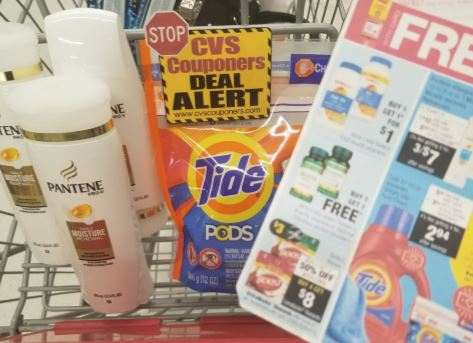Tide or Pantene CVS Couponers Deal $0.42 - 7/7-7/13