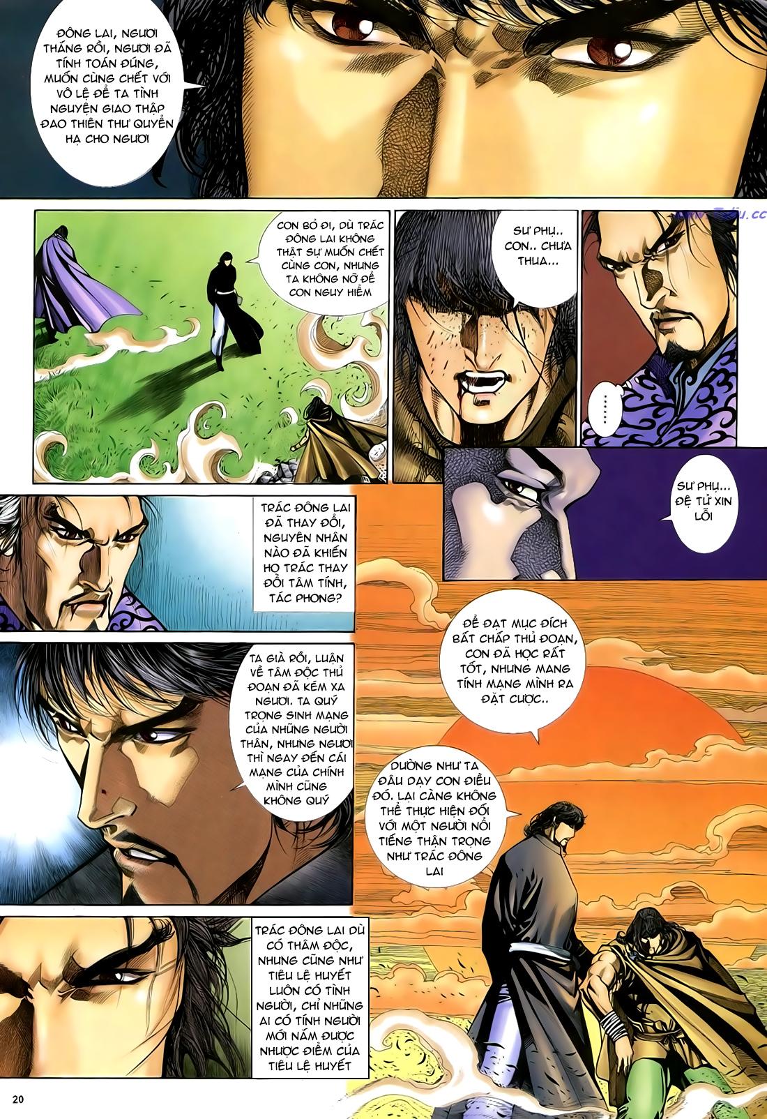 Anh hùng vô lệ Chap 29 trang 21