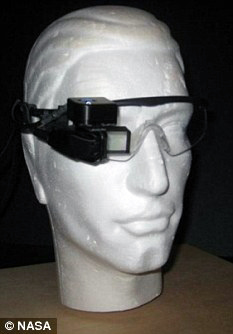 augmented reality goggles by NASA