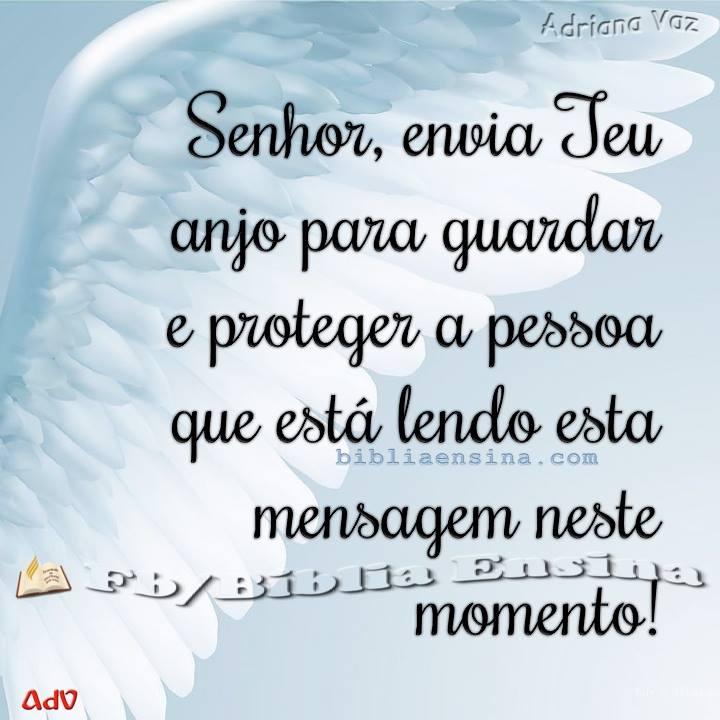Senhor, Envia Teu Anjo Para Guardar E Proteger A Pessoa