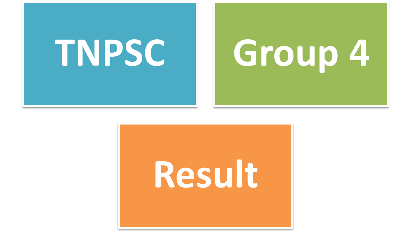 TNPSC Group 4 Dec 2014-2015 Result