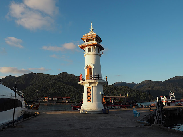 Таиланд, остров Чанг, пирс Банг Бао – маяк (Thailand, Chang island, Bang Bao pier – lighthouse)