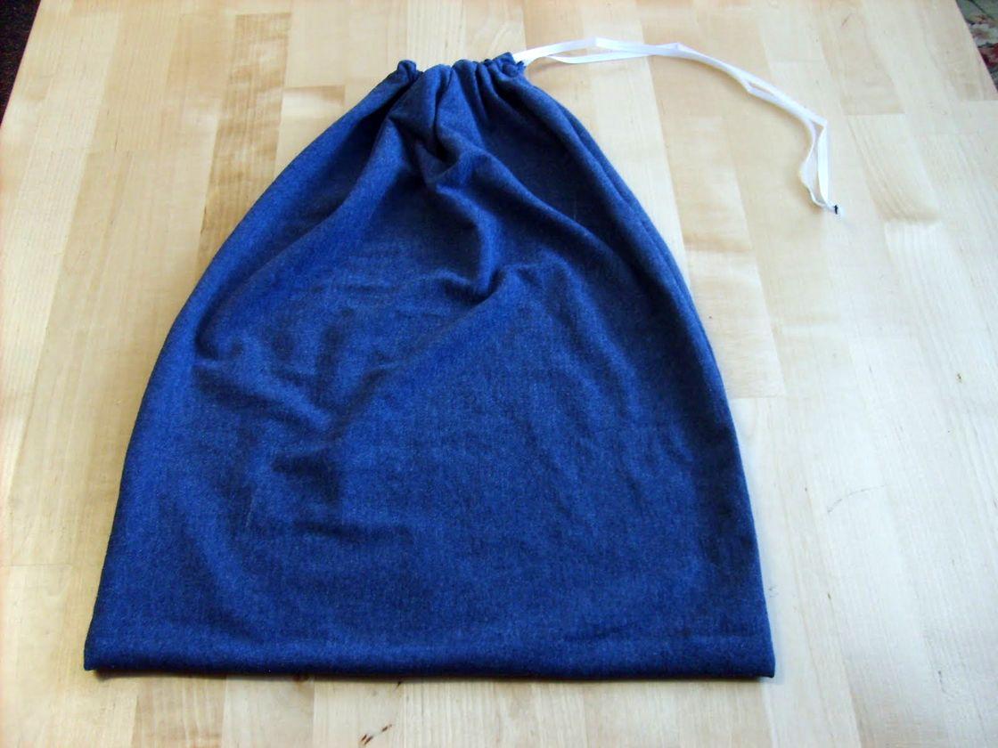 Drawstring T-shirt Bag Tutorial