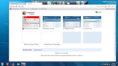 تحميل برنامج التصفح Comodo Dragon مجانا