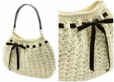 Bolso y Funda de Gafas de Crochet