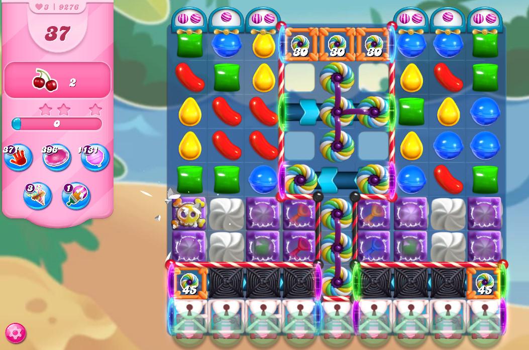 Candy Crush Saga level 9276