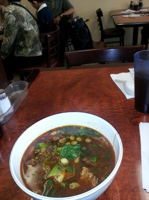 Beef Noodle Soup, Chinatown staple