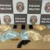 Na Capital: casal é preso com arma de fogo e mais de R$ 7 mil após perseguição policial