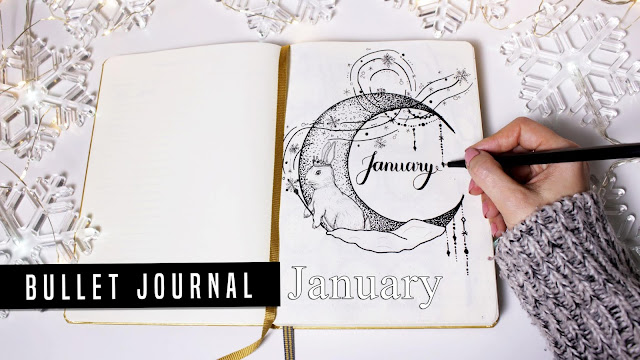 Bullet Journal January / Január 2019