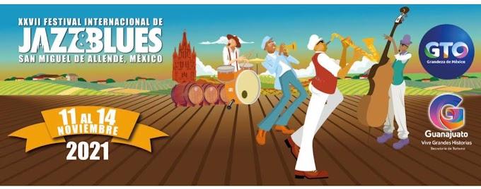 Festival de Jazz y Blues San Miguel de Allende 2021