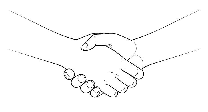 Gambar jabat tangan