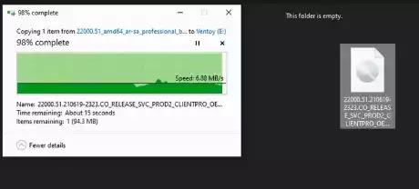 Windows11 bootable USB drive