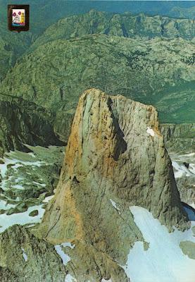 Cara sur del Picu Urriellu.