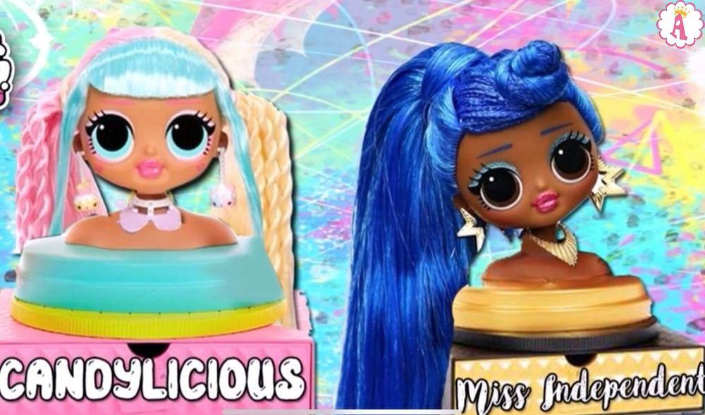 Манекен для причесок Candylicious и Miss Independent Styling Head