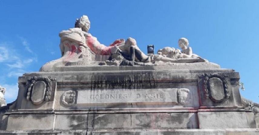 Statues dégradées à Marseille: «Les colonisés d'Afrique niq*ent la France»