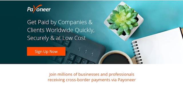 Hướng dẫn đăng ký tài khoản Payoneer và nhận 25$