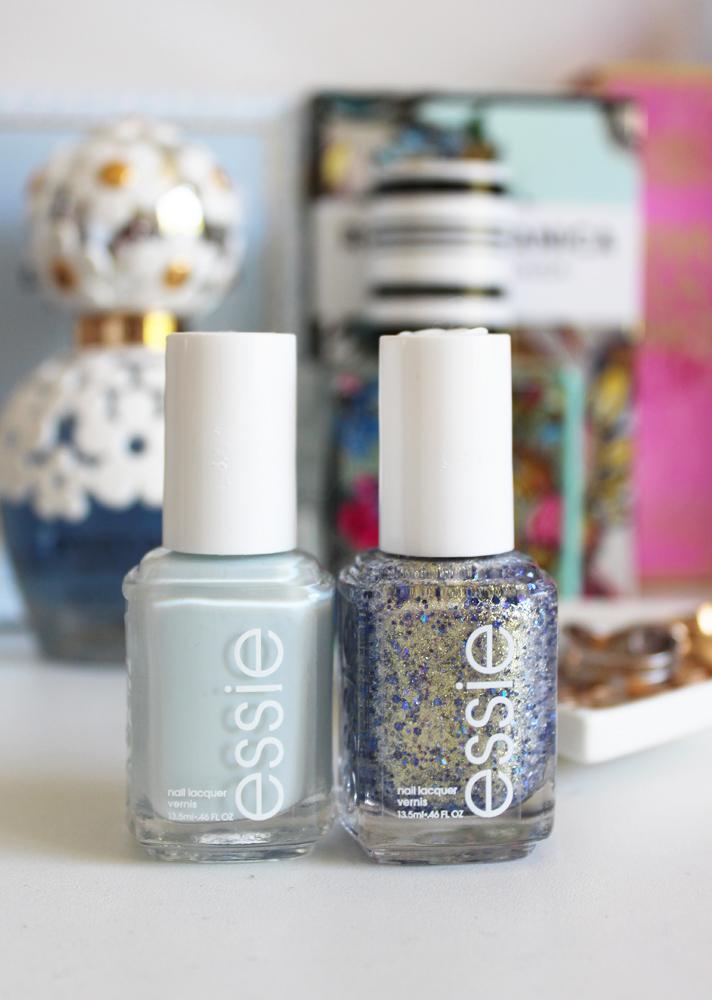 NOTD // Essie Find Me An Oasis + On A Silver Platter - CassandraMyee