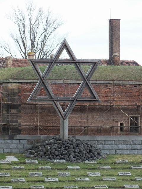 memorial en el campo de concetración Terezín