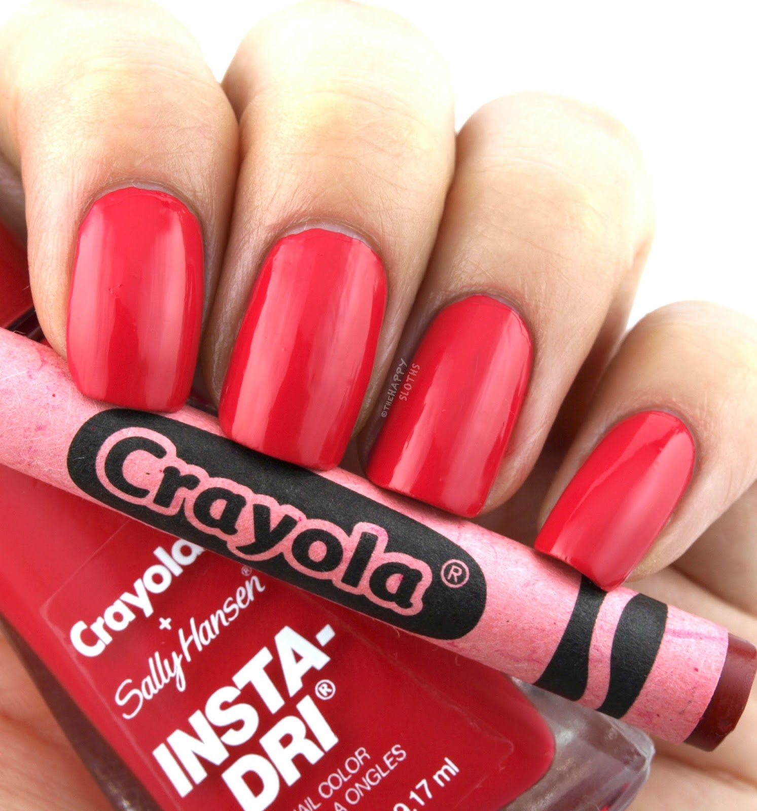 Sally Hansen + Crayola Collection | 511 Razzmatazz: Review and Swatches