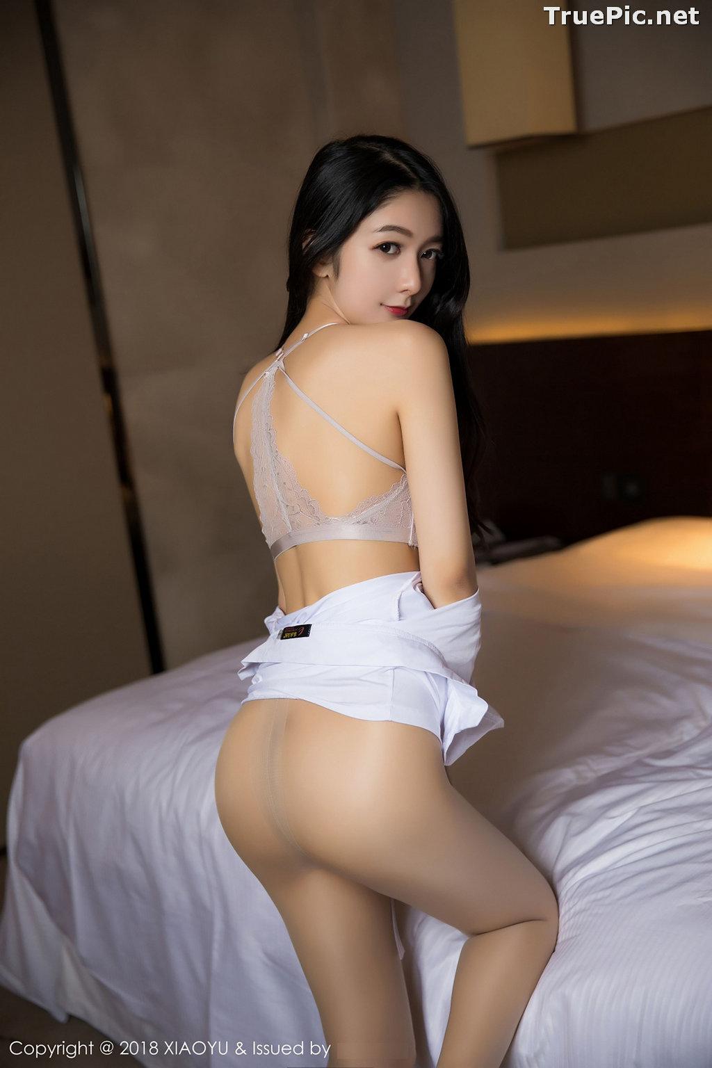 Image XiaoYu No.004 - Chinese Model - Xiao Reba (Angela喜欢猫) - White Sexy Nurse - TruePic.net - Picture-38