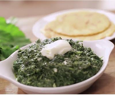 How to make sarson da saag at home