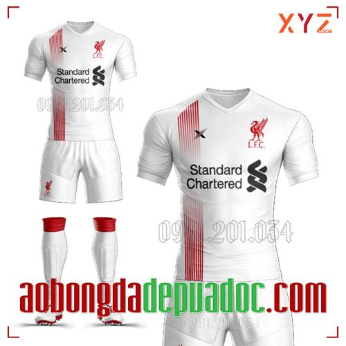 Áo Liverpool 2020 Training Màu Trắng Đẹp Và Độc