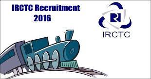 IRCTC Recruitment 2016-17