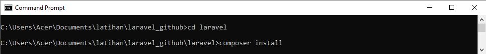 composer install sahretech