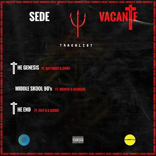 Sede Vacante EP tracklist artwork