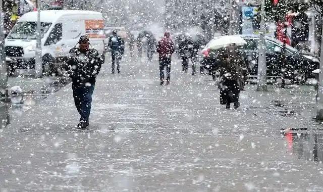 الثلوج قادمة.. الأرصاد الجوية تعلن عن ثلوج وأمطار قادمة في عدت مدن تركية