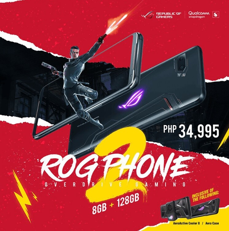 ASUS ROG Phone II Strix Edition Lands in PH