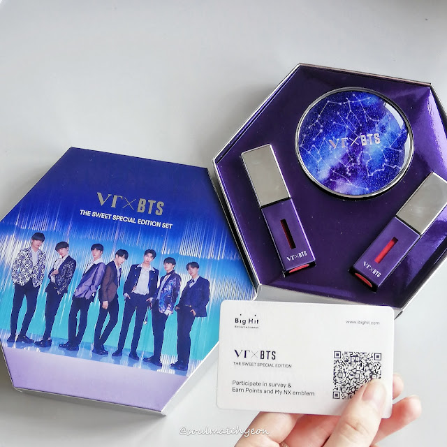 soulmatehyeon; VT x BTS The Sweet Special Edition Set