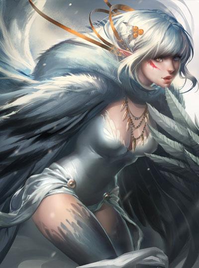 Мистическое существо : Гарпия