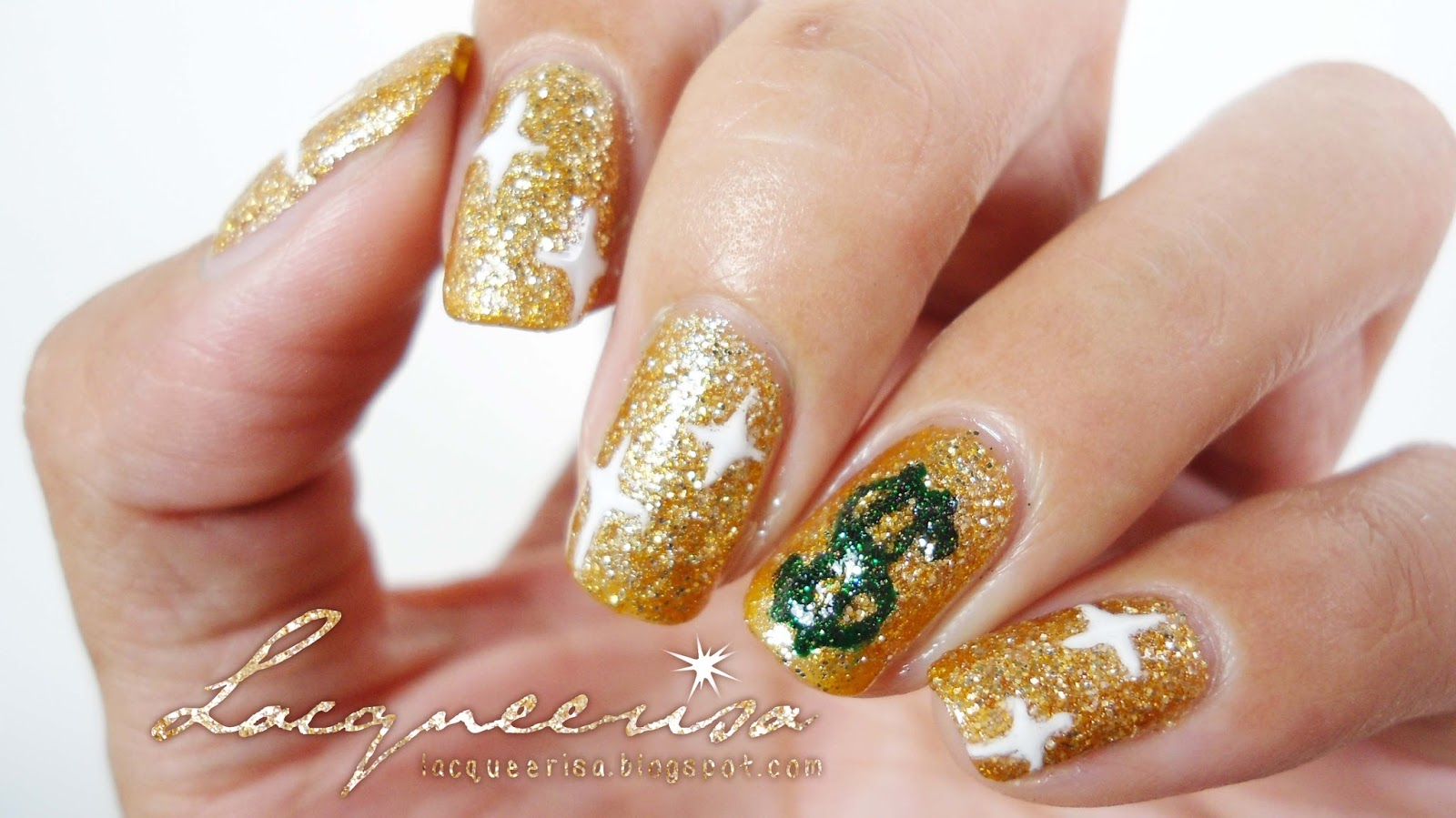 Lacqueerisa: Bling-Bling Nails!