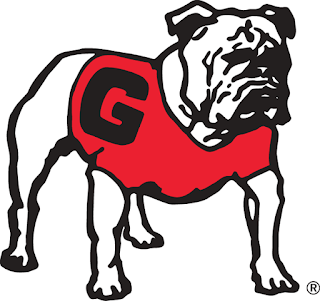 Georgia Bulldogs 1980 Logo