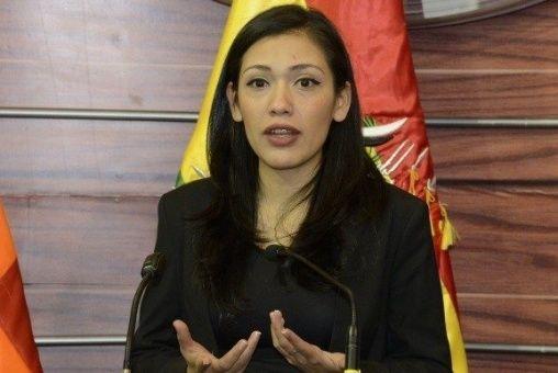 Presidenta del Senado pide a la oposición a pacificar Bolivia